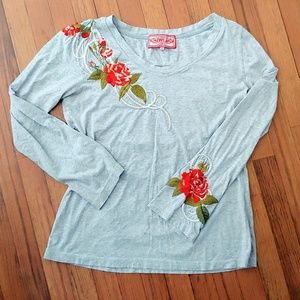 Johnny Was Romeo and Juliet Rose Top